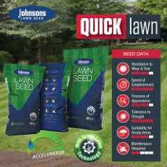 Johnsons Quick Lawn Accelerator